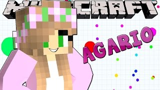 Minecraft - Little Kelly - FIRST TIME PLAYING AGARIO!
