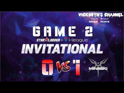 LIQUID VS MINESKI GAME 2 STARLADDER INVITATIONAL S3