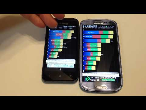 Samsung Galaxy S3 vs. HTC Droid Incredible 4G LTE Review