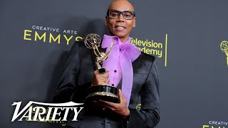 RuPaul: Emmys Full Backstage Interview