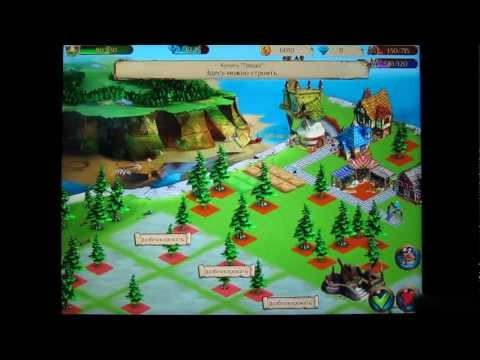 Enchanted Realm HD (Волшебное Королевство) на the new Ipad 3 Gameplay