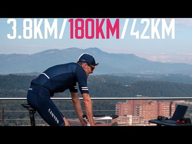 JAN FRODENO Does 8.5 Hour Virtual Ironman