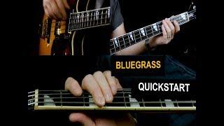 Bluegrass Bass Lessons - Basslines for Bluegrass - Quick start