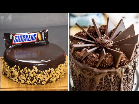 Melting Chocolate Cake Decorating Ideas | How To Make Chocolate Cake At Home | So Yummy Tutorials