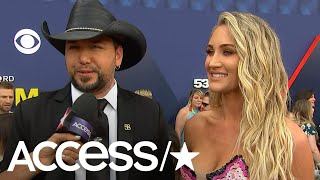 ACM Awards: Jason Aldean Reveals He's Bringing His Baby Boy On Tour With Him! | Access