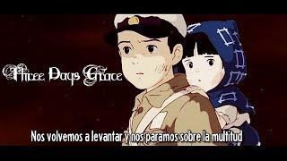 Three Days Grace - One X (Sub Español) Music Video |HD|
