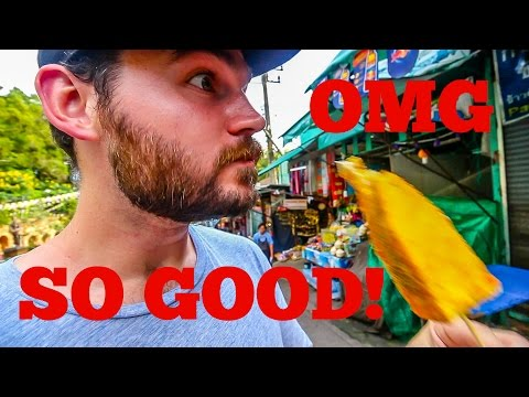 DELICIOUS THAILAND STREET FOOD - Doi Suthep Temple, Chiang Mai