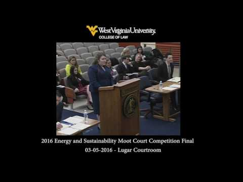 2016 Energy and Sustainability Moot Court Competition Final