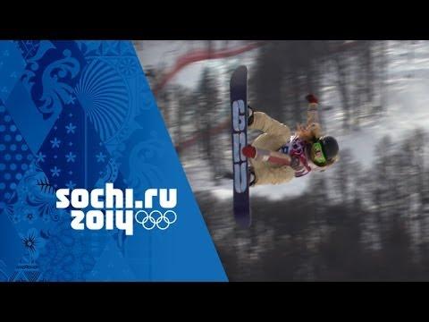 Jamie Anderson's Snowboard Slopestyle Full Gold Medal Run | Sochi 2014 Winter Olympics