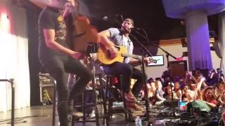 Chase Rice - multiple song medley 10-7-15