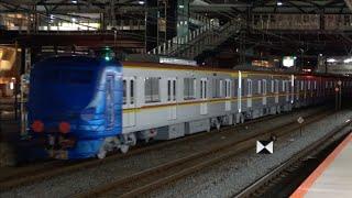 東京メトロ有楽町線・副都心線17000系17102F 甲種輸送