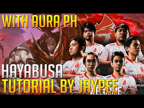 HAYABUSA TUTORIAL WITH AURA PH SQUAD ( RANKED GAME ) TIPS HOW TO PLAY ASSASIN.