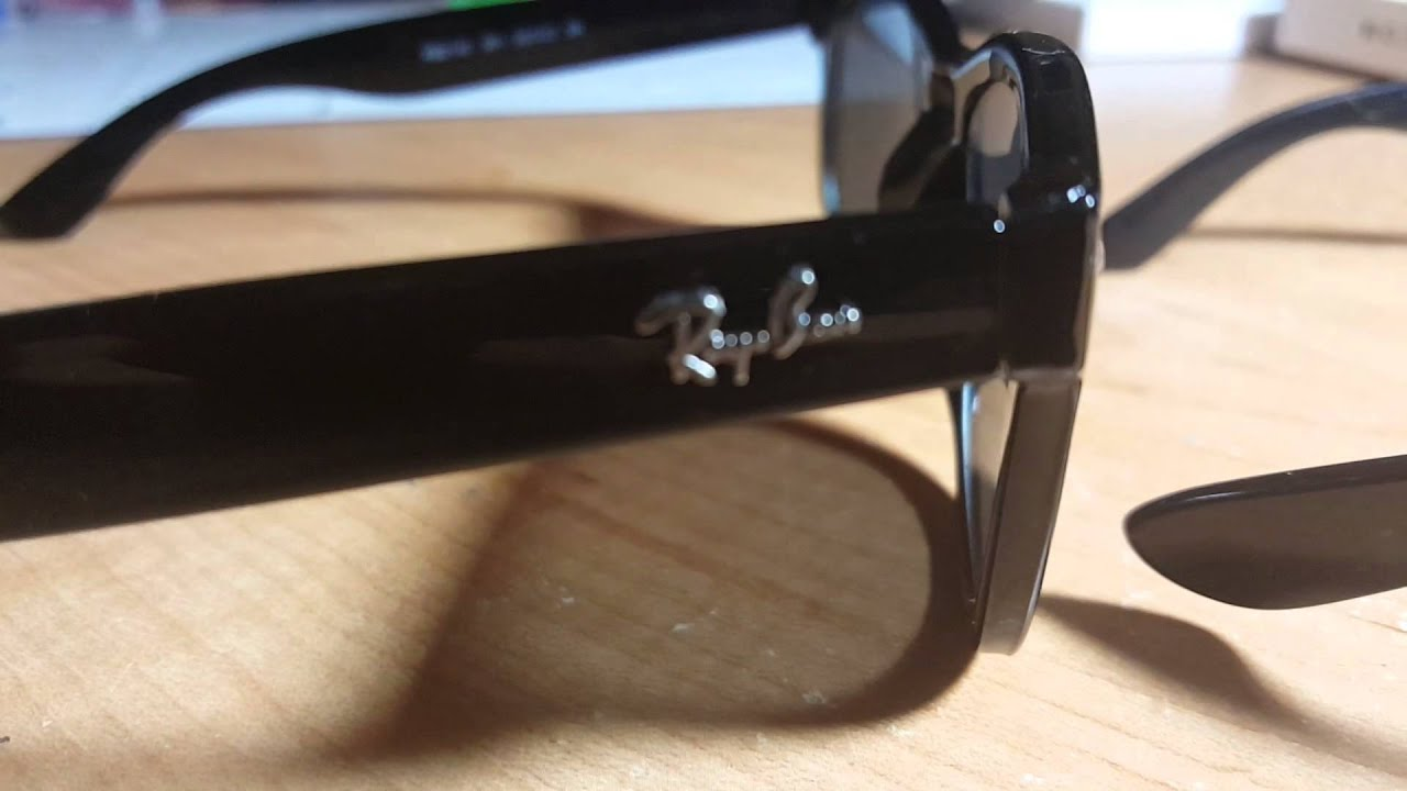 f3a3e0dff4  3 Fake Ray Ban (AliExpress) Vs. Real Ray Bans Comparison! - YouTube