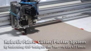 CNC Knife Fabric Cutter Plotter Machine Malaysia