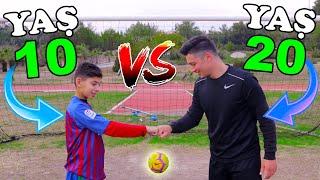 10 YAŞ VS 20 YAŞ ÜST DİREK CHALLENGE (Gelecekte Ronaldo?)