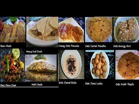 Indian Food Weekly Menu Plan-Food Menu and Preparations Hindi-Weekly