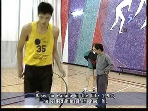 Giant North Korean soldier rumoured to be basketball star Ri Myung Hun - 31Dec2011