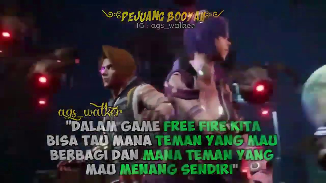 Kata Kata Mutiara Free Fire Untuk Story Whatsapp Part 2 Youtube