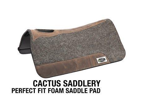 Cactus Saddlery Perfect Fit Foam Saddle Pad