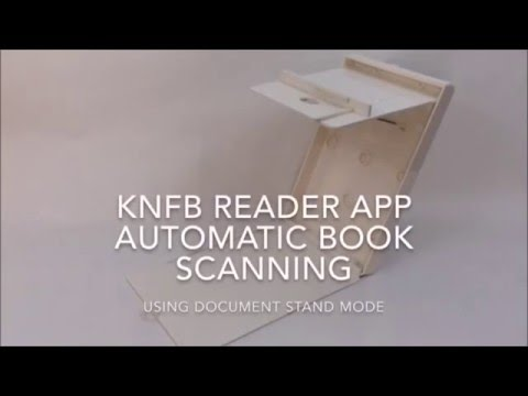 Using The KNFB Reader App For Book Scanning