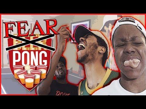 THE FEAR PONG CHALLENGE Pt.2 | #Mav3riqFam