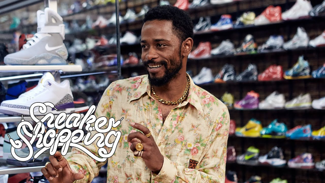 Lakeith Stanfield Goes Sneaker Shopping With Complex - YouTube 43c3366dc