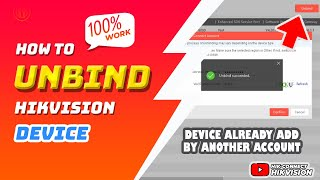 How To Unbind Device   Delete Device    Reset Cloud Device That Already Added By Another Account