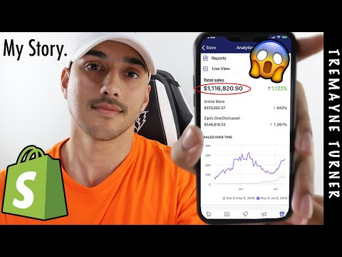 Shopify Dropshipping Tutorial 2019 | $1,116,820 in 2 Months thumbnail