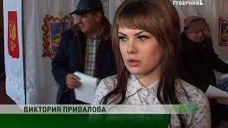 Губернатор Брянской области Александр Богомаз проголосовал в Меленске