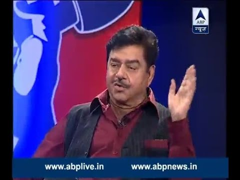 Watch Shatrughan Sinha say 'Khamosh' in Press Conference tonight at 8 PM