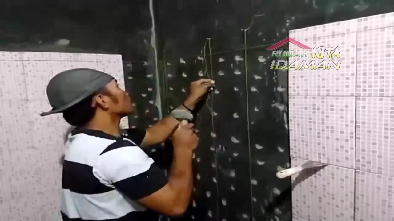 Cara  Pasang  Keramik  Dinding dan Lantai  WC atau Kamar Mandi