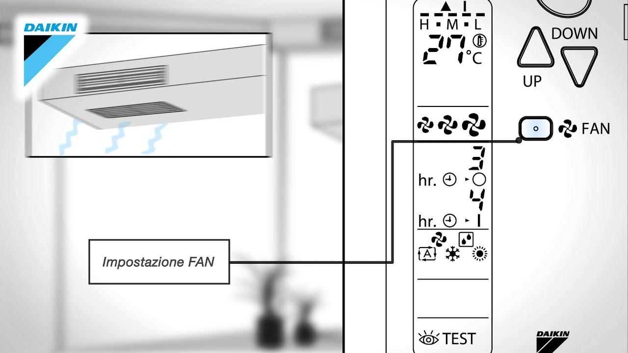 Manuale D Uso Telecomando Climatizzatore Daikin Fdxs F9