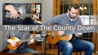 The Star of The County Down - Celtic Fingerstyle Guitar With TAB!