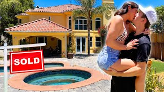 ME AND BRITT BOUGHT OUR DREAM HOME House Tour