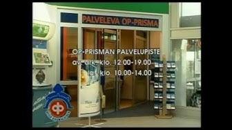 Rauman Seudun Osuuspankki Prisma 2001.  RTV. Westmedia Oy. Rauma