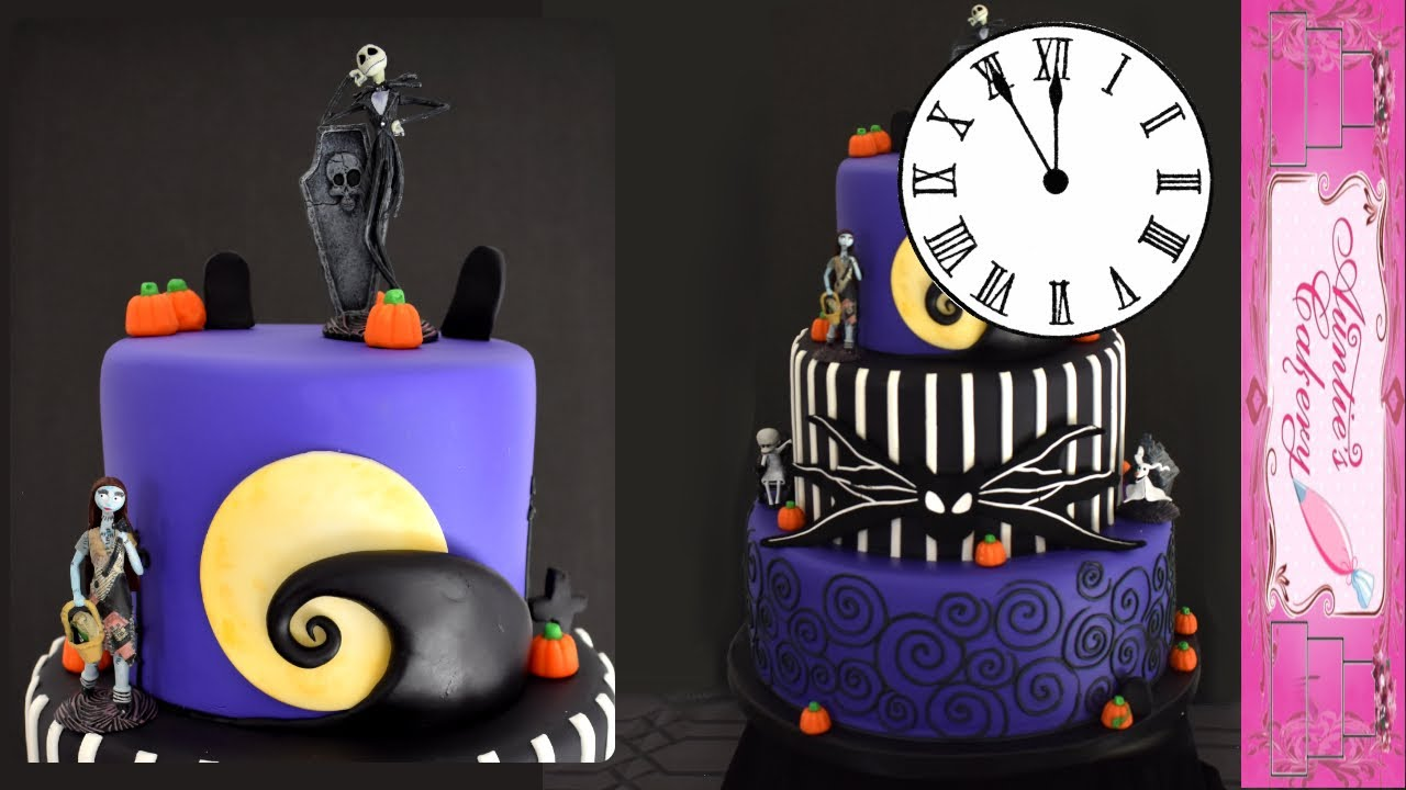 Nightmare Before Christmas Cake Time Lapse Youtube