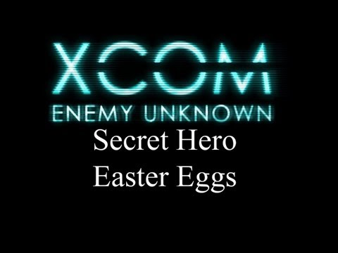 XCOM Enemy Unknown - Super Soldiers Easter Egg Cheats