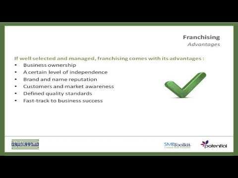 Franchising; Benefits, Advantages and Disadvantages