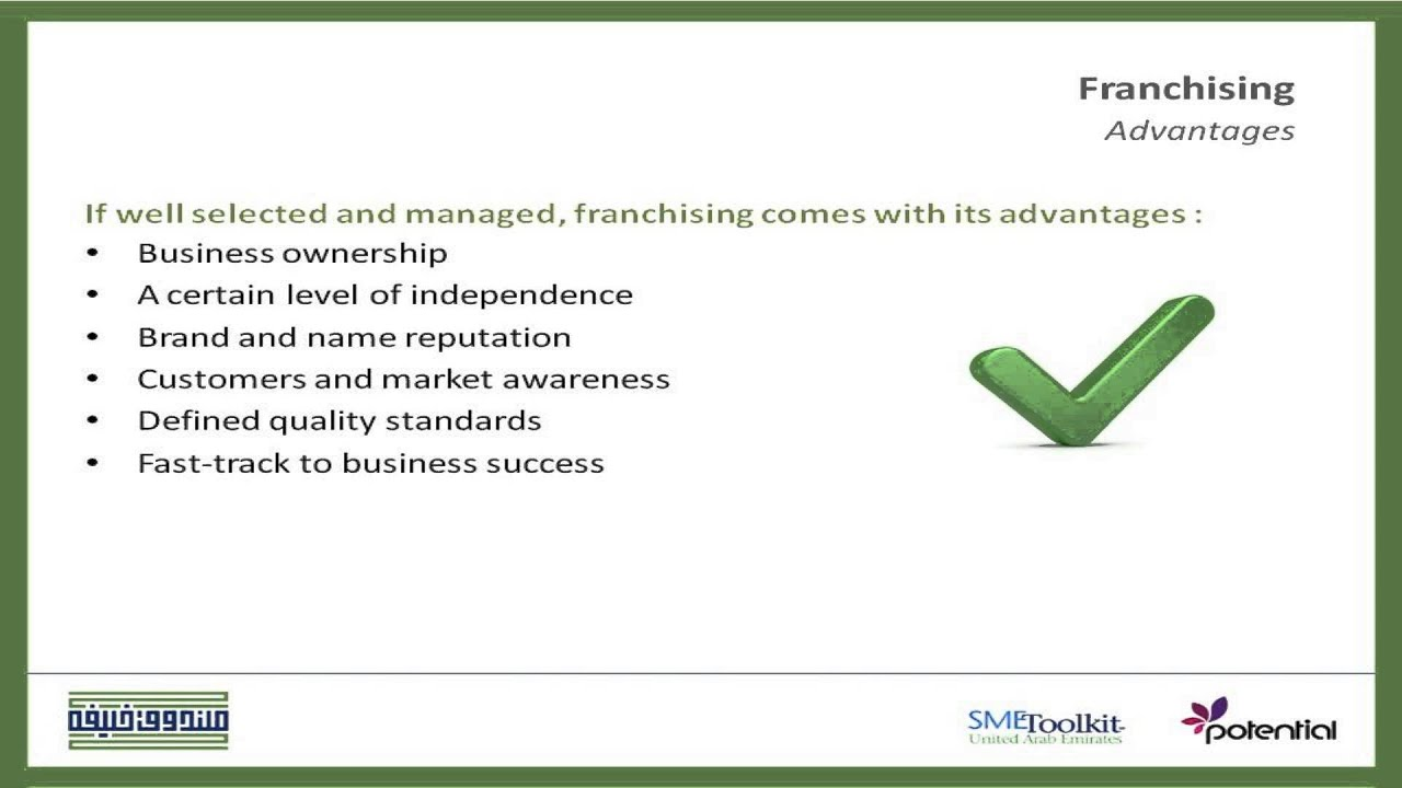 franchising benefits advantages and disadvantages franchising benefits advantages and disadvantages