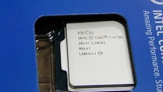Intel Core i7 4770K Haswell