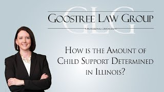 Goostree Law Group Video - How is the Amount of Child Support Determined in Illinois?