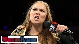 Ronda Rousey Promo: Shoot or Work?! | WrestleTalk's WrestleRamble