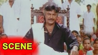 Mohan Babu Fire On Villains At  Meeting || Rayalseema Ramanna Chowdary Movie ||  Mohan Babu