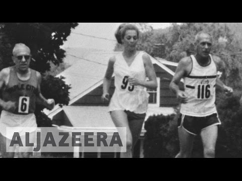 First Boston Marathon woman to race again, 50 years on