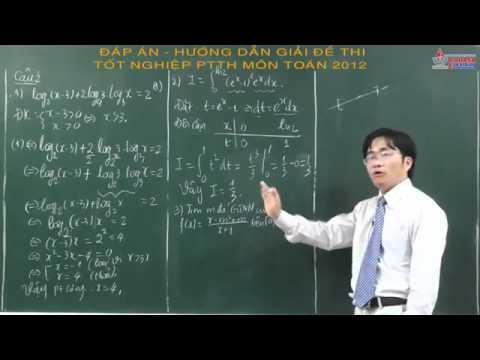 Đáp án đề thi tốt nghiệp 2013 – Tốt nghiệp THPT 2013 – Môn Toán – cadasa.vn