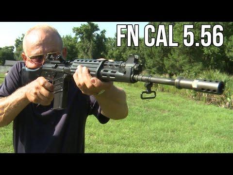 RARE Full Auto FN CAL Assault Rifle! 5 56 FAL prototype (Unicorn