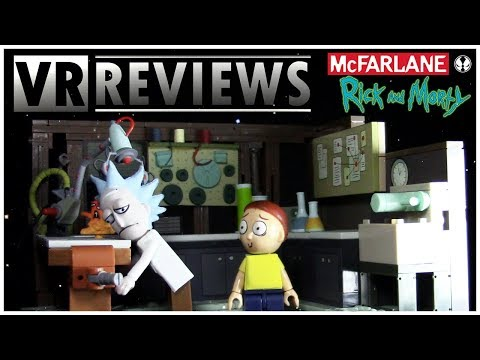 VR Reviews: Rick & Morty Construction Set- Spaceship and Garage Review