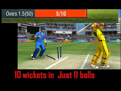 How to get wickets quickly (T20,ODI,Test) in wcc2 🔥