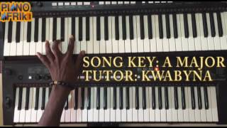(FULL VIDEO)How to play bue kwan bi ma me by Kwabena kwabena. Tutorial by Piano afrik