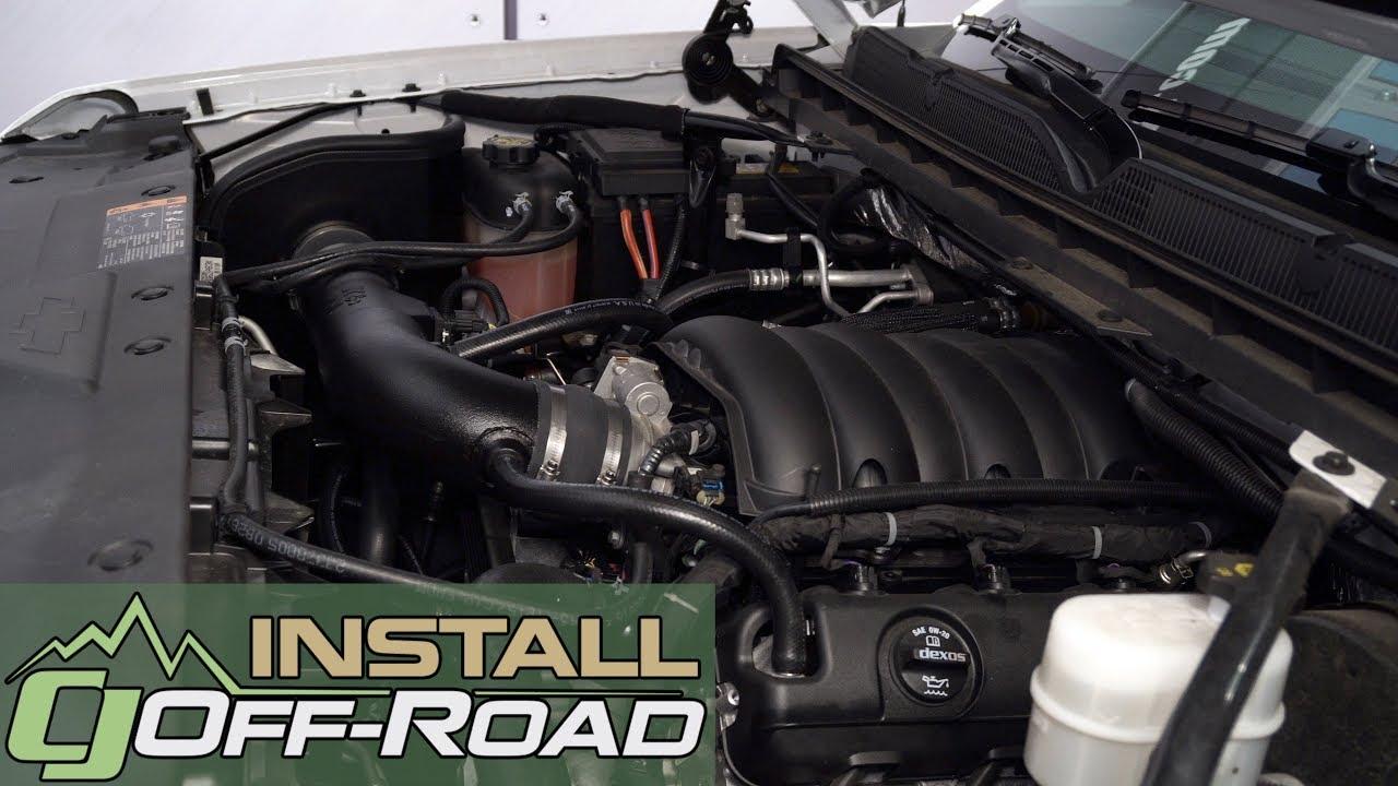 5.3L + 6.2L V8 K/&N AirCharger Intake System for 15-18 GMC YUKON XL DENALI